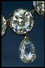Close-up photograph of the Napoleon diamond necklace (NMNH G5019)