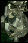 Close-up photograph of a drilled diamond (NMNH G5113)