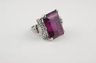 Elbaite Ring (NMNH G4160-00) from the National Gem Collection.