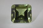 Green beryl (NMNH G3916-00) from the National Gem Collection.