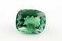 Rectangular cushion-cut green fluorite weighing 55.24 ct.
