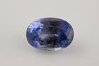 Oval-cut light blue jeremejevite weighing 11.3 ct.
