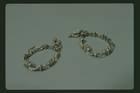 Marie Antoinette Diamond Earrings - original silver mountings.