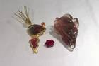 From left to right: Sunstone pendant (NMNH G10366-00); Spitfire sunstone (NMNH G10362-00); and Eternal Flight (NMNH G10343-00)