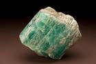 Emerald (beryl) crystal from the Tokovaya District in Russia.  Number 106292.  Malyskevo, Ekaterinburg (nr.) Ural Mountains.