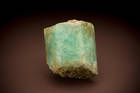 Emerald (beryl) crystal from the Tokovaya District in Russia.  Number 139553.  Siberia.  J.J. Trelawney Collection.