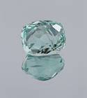 This is the first bluish-green fluorite gem from Pakistan in the National Gem Collection.