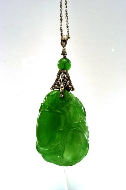 Jade Pendant, Jadeite