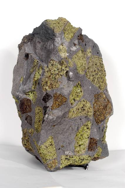 Peridotite Xenolith in Basalt