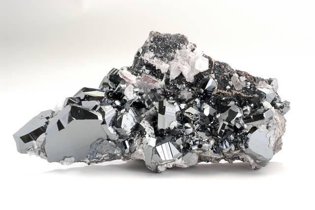 Hematite, Quartz