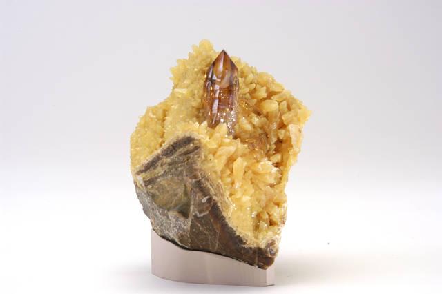 Barite, Calcite