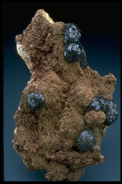Photograph of cronstedite (NMNH R7771) from the National Mineral Collection