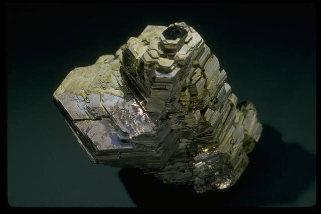 Photograph of pyrrhotite (NMNH R19554) from the National Mineral Collection