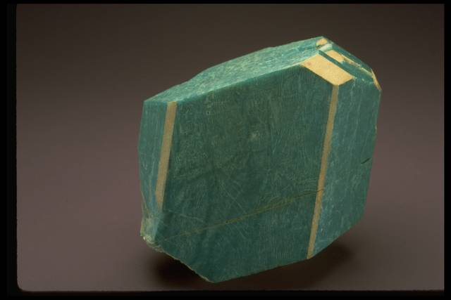 Photograph of amazonite with microcline (170972) from the National Mineral Collection