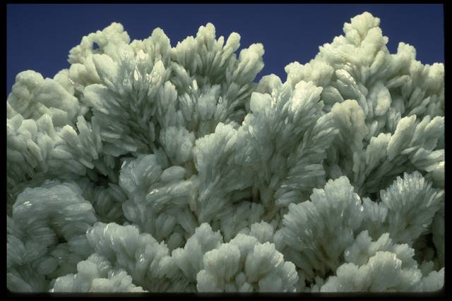 Photograph of barite (NMNH R16165) from the National Mineral Collection
