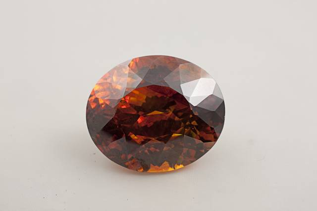 Sphalerite (NMNH G10695-00) from the National Gem Collection.