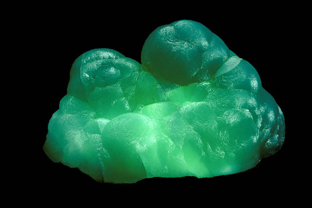 Smithsonite (143509-00)  from the National Mineral Collection