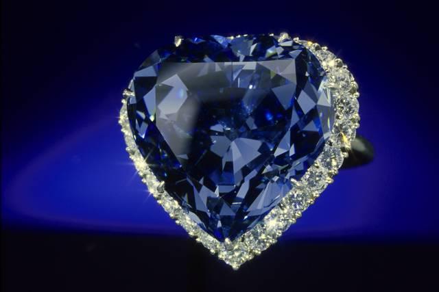 Blue Heart Diamond Smithsonian Institution