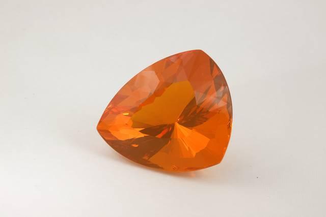 Opal (var. fire opal) from Brazil