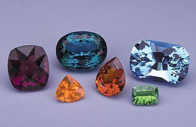 African Gems (NMNH G10160, G10162, G10182)