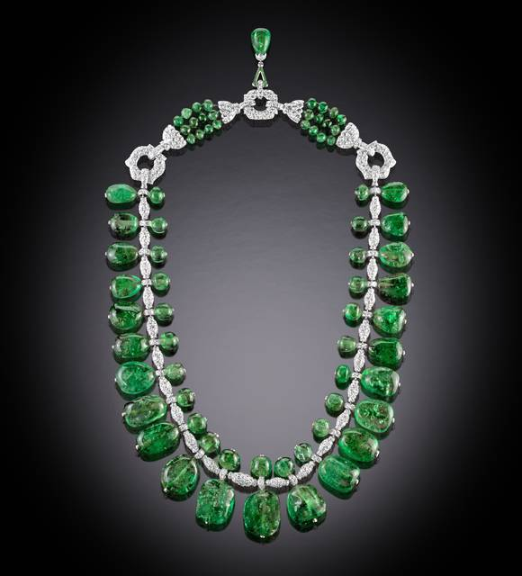 emerald necklace ben diamond halo bridge necklaces jeweler