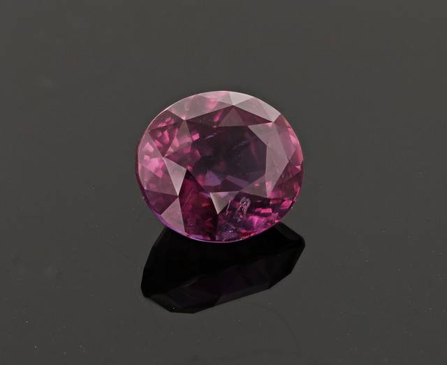 This purplish-pink sapphire from Madagascar has a unique color and is a major upgrade for the National Gem Collection from this locality.