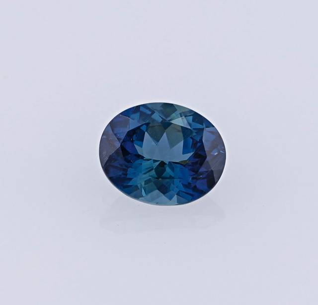 This gem is the first sapphire from Malawi for the National Gem Collection, and it is natural and untreated.
