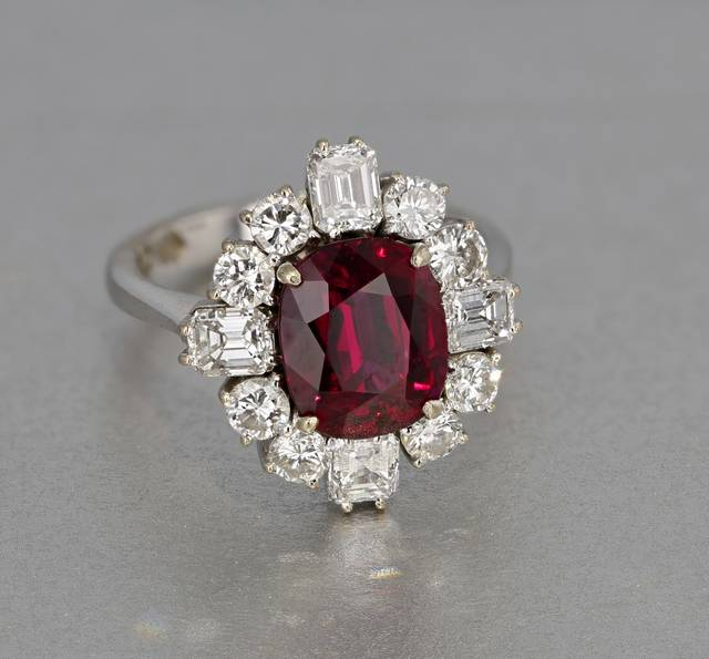 Rubies from Thailand are typically brownish-red to purplish-red, almost garnet-like in color. They are darker than those from Burma and are commonly heat-treated to produce a purer red color.