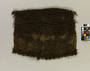 1 FLAX CLOAK WITH FRINGE AT NECKLINE AND BOTTOM, W...