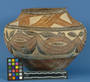 Polychrome Ceramic Jar